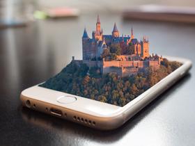 世界上首次全部采用3D全息图像的马戏团表演